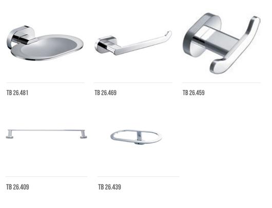 Llaves y accesorios para ba o elipse de valmex for Llaves y accesorios para bano
