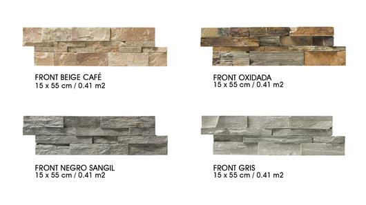 ideales para un diseo creativo en la fachada un hall de acceso o un muro interior las fachaletas piedra aportan un toque rstico y acogedor a la