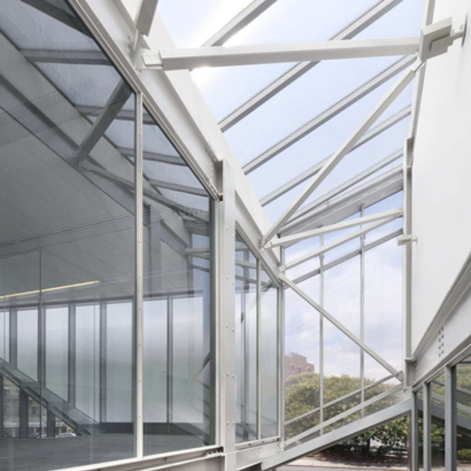 Exterior glazing clearshade for facades from panelite for Architectural skylights
