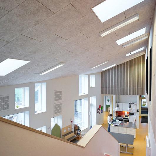 Placas acústicas para techos
