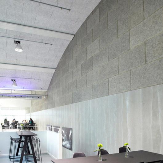 Placas acústicas para muro
