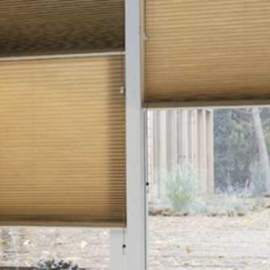 Cortinas Duette® para optimizar el confort térmico / Luxaflex