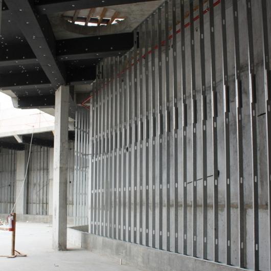 Perfiles de acero para muros y fachadas