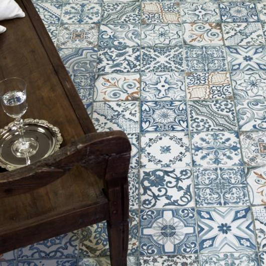 Porcelanatos Decortiles Blue Memory / Eliane