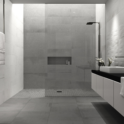 Porcelain Tiles - Build