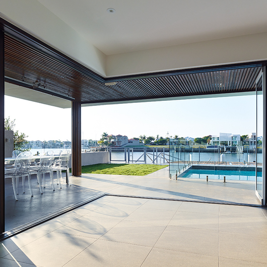 Integrated Doors in Mooloolaba Residential Project