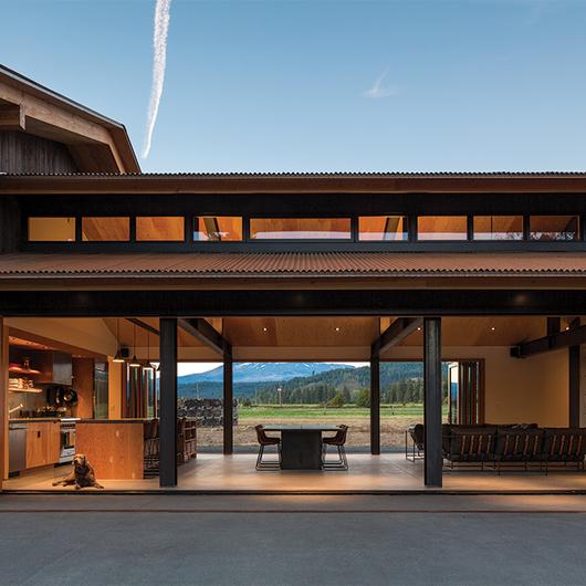 Integrated Doors in Home and Studio