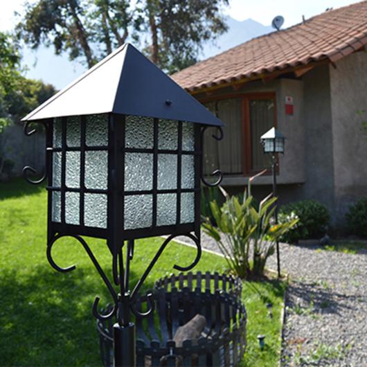 Lámparas de Fierro Negro