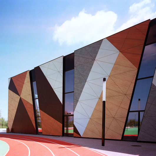 Large Format Exterior Cladding Products : Trespa meteon exterior cladding panels from