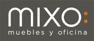 Large logo mixo fondo gris