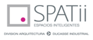 Large logo spatii n