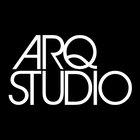 Large arq studio logo vector mkt