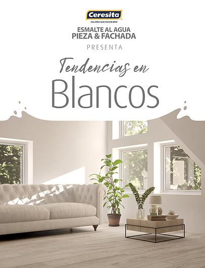 CARTILLA CERESITA PIEZA Y FACHADA - TENDENCIAS BLANCOS