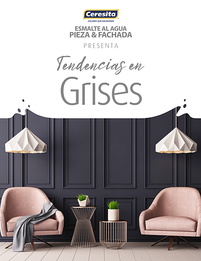 CARTILLA CERESITA PIEZA Y FACHADA - TENDENCIAS GRISES
