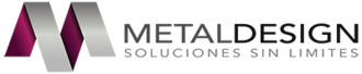 Large logotipo metaldesign