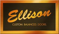 Large ellison logo brass 2