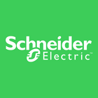 Large schneider electric logo square lifegreen background