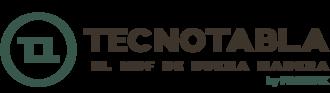 Large logotipo principal tecnotabla español sin fondo