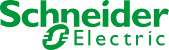 Large schneider electric logo
