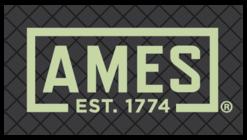 Large ames cross hatch logo