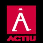 Large actiu logo