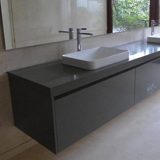 Muebles de Baño Lacado Color