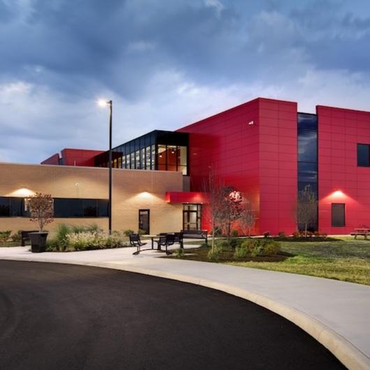 Alpolic Pannels used inButler Tech Bioscience Center