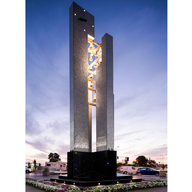 Carillon Parroquia San Vicente de Paul, Bell Tower, Chile - Alusion™ Stabilized Aluminum Foam