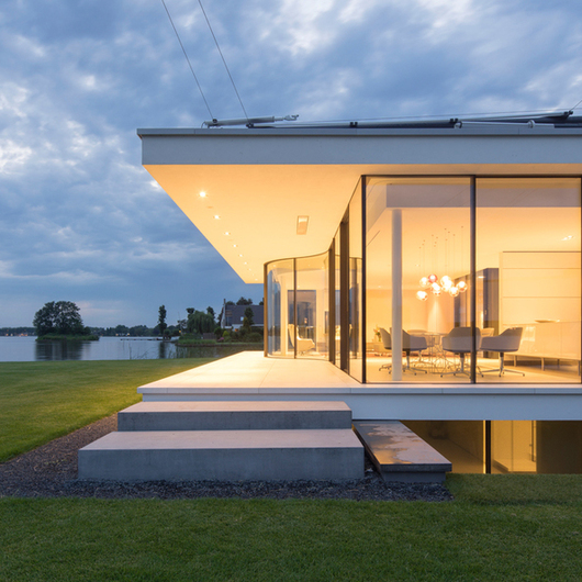 Insulated Sliding Doors - Sky-Frame Arc