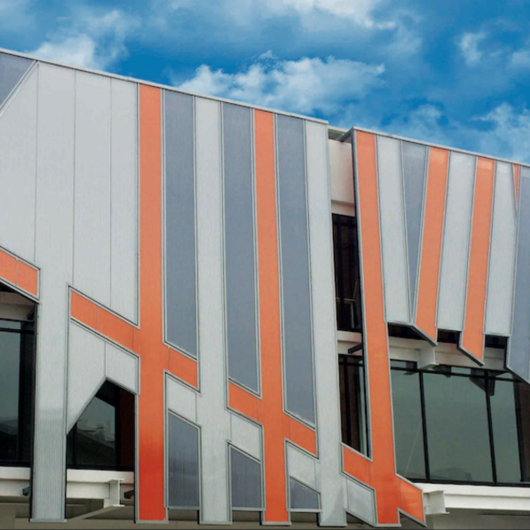 Sistema de fachada ventilada - Danpal® VRS / Danpal