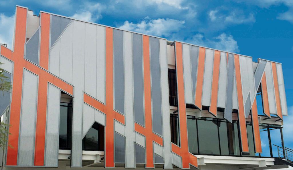 Sistema de fachadas ventiladas vrs de danpal - Productos para impermeabilizar fachadas ...