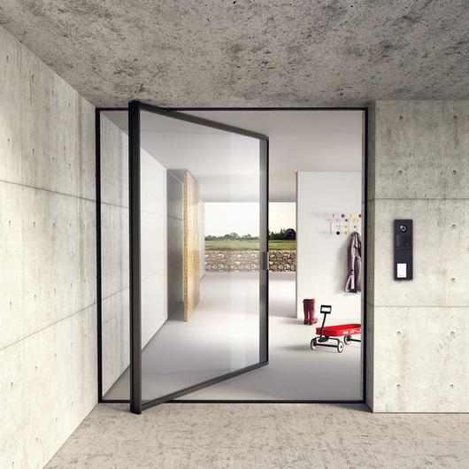 Glass Door - Sky-Frame Pivot & Doors   ArchDaily