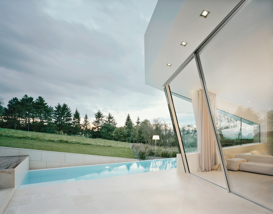 Insulated Sliding Doors - Sky-Frame Slope