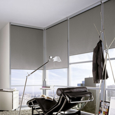 Cortinas y Persianas Green Screen Metallic / Hunter Douglas Window Covering
