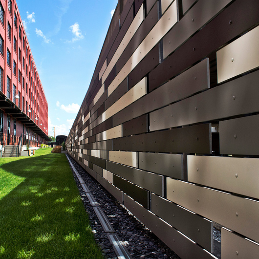 Linearis Fiber Cement Slat Panels