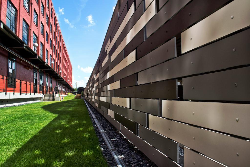 Linearis Fiber Cement Slat Panels