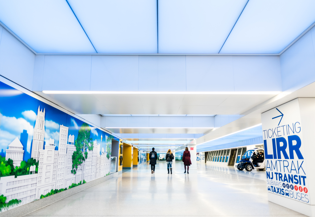 LightFrame® Acoustical Fabric Ceiling and Wall System