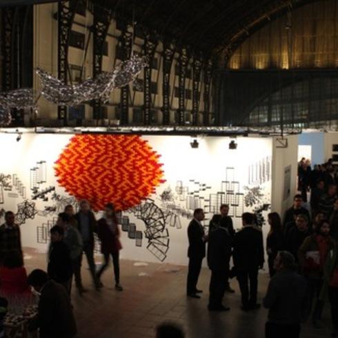 Paneles en Feria de Arte Ch.ACO