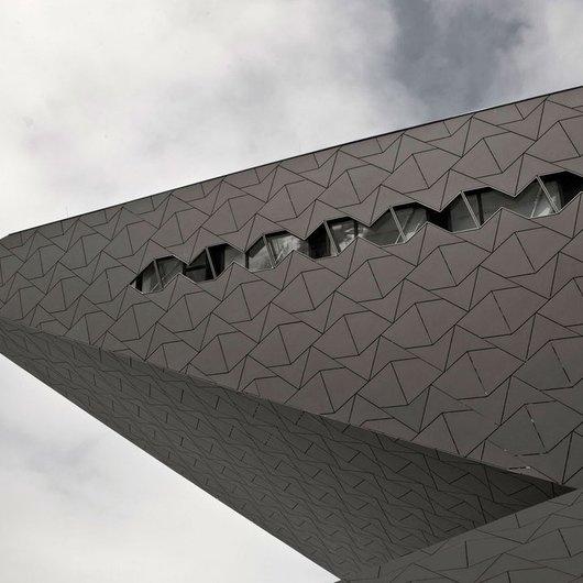 Panel de fibrocemento para fachada Natura