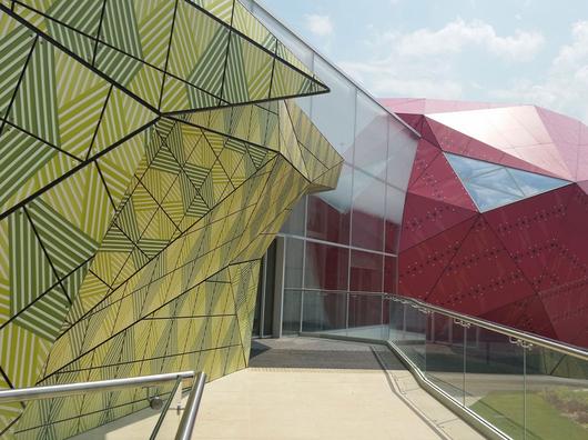 Paneles decorativos exteriores max compact exterior de - Paneles decorativos exterior ...