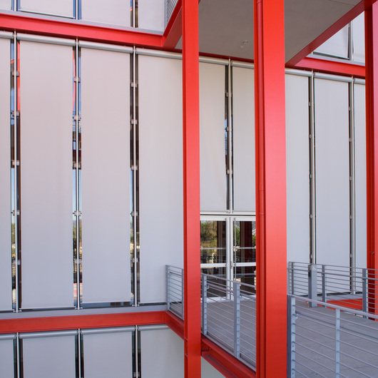 Exterior Roller Shades - Automated / Hunter Douglas Architectural