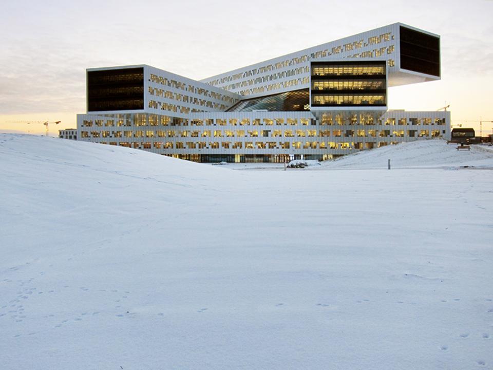 Coatings - Etalbond in StatoilHydro Building