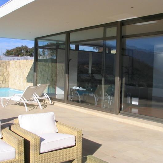 Ventanas y Puertas de Aluminio Madera / Glasstech