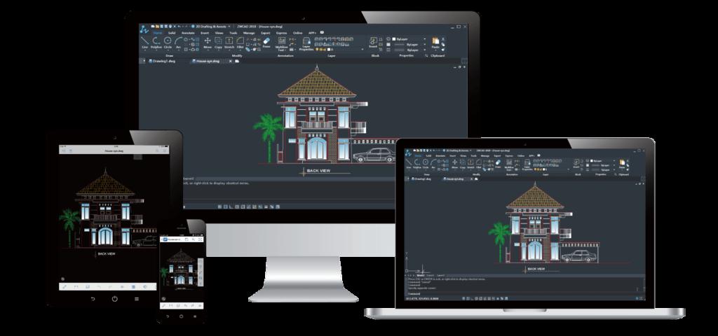 Software de Diseño ZWCAD 2018