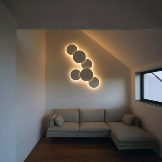 Wall Lights Puck Art From Vibia