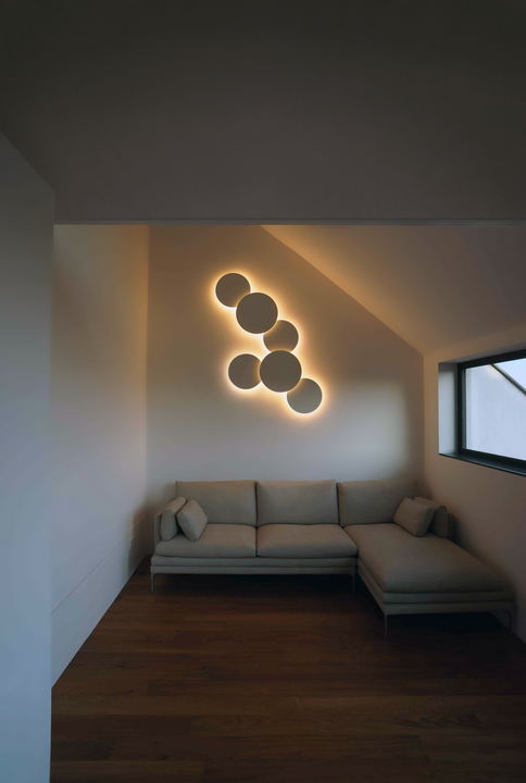 Wall Lights - Puck Wall Art from Vibia International