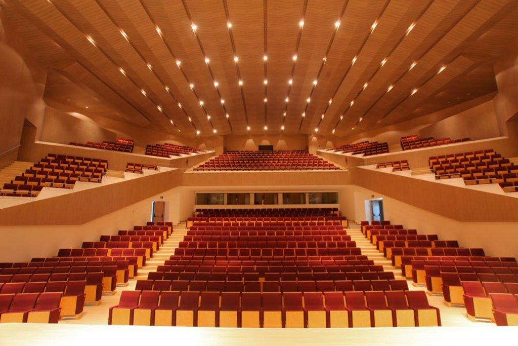 Muebles Actiu en el Auditorio Torre de Vieja