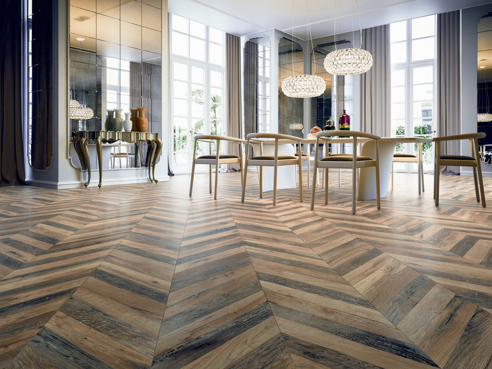 Ceramic Tiles - Chevron