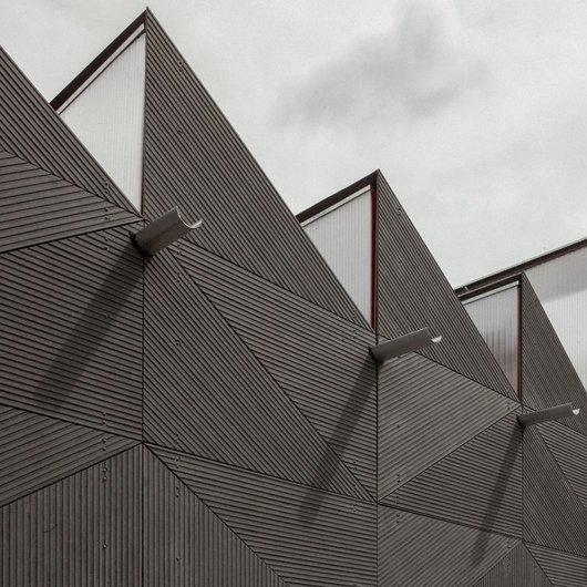 Panel de fibrocemento para fachada - Linea