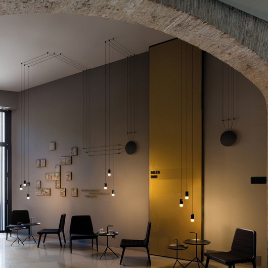 Hanging Lamps - Wireflow Free-Form / Vibia International